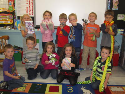 show and tell - letter s s | st. andrews elementary